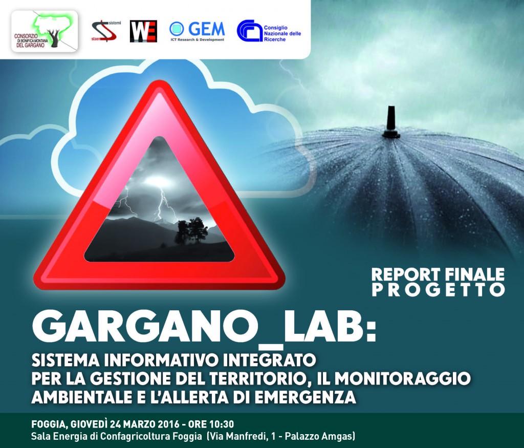 Man Gargano lab